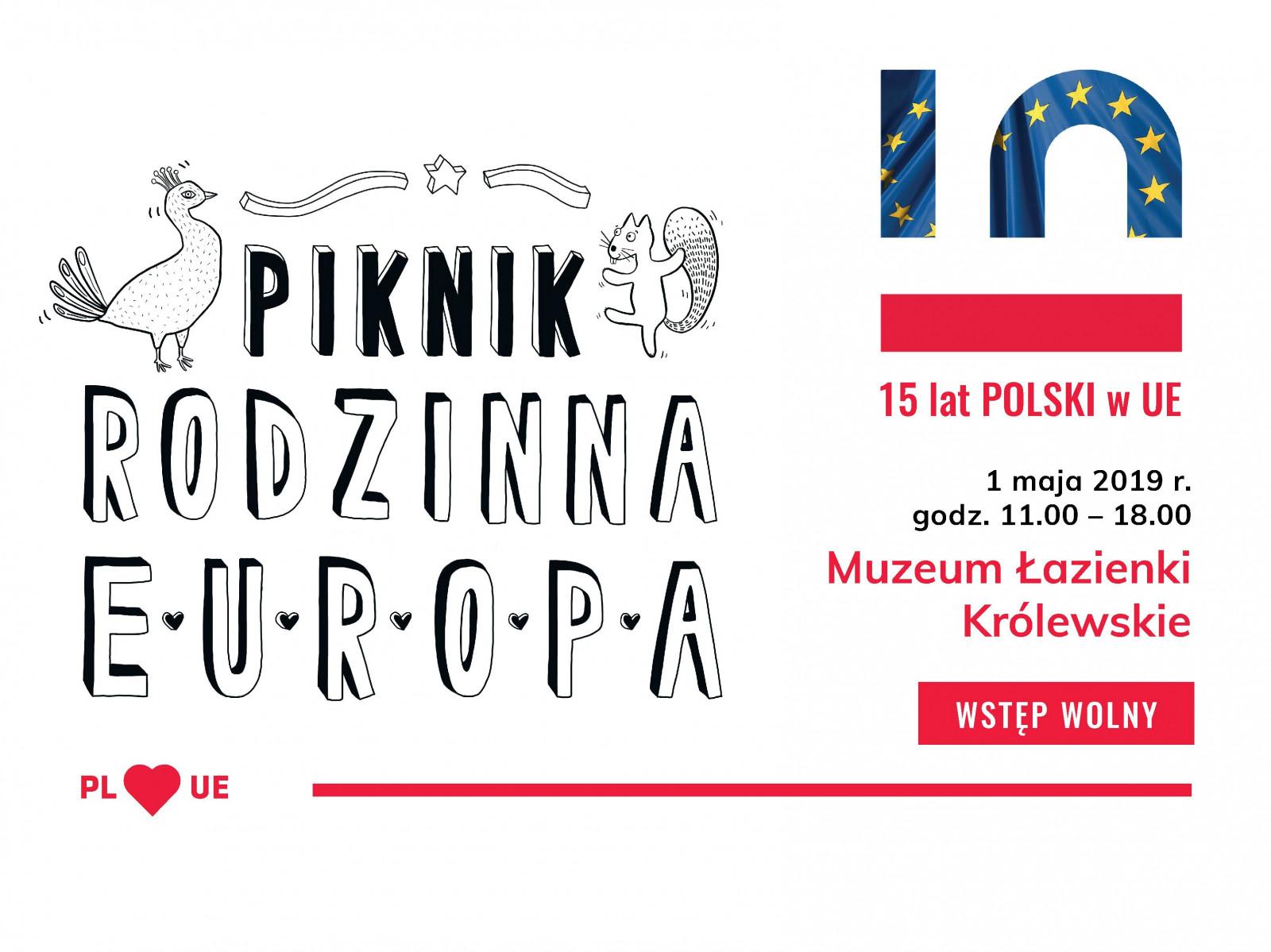 Piknik Rodzinna Europa Narodowe Centrum Kultury