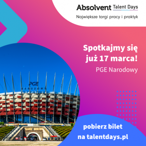 [ZMIANA TERMINU] NCK na Absolvent Talent Days!