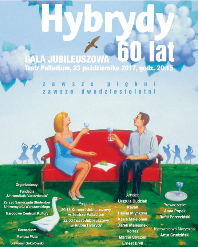 dobry spotykać się różnie Gala Jubileuszowa z okazji 60-lecia powstania Klubu Hybrydy ...
